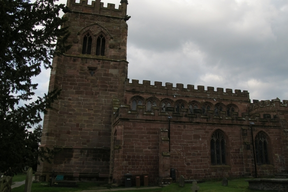 St Bertoline's Church, Barthomley